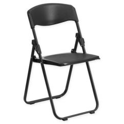 Folding Chair Emoji American Antique Chairs Buy Kitchen Bed Bath Beyond Flash Furniture In Black