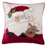 Make-Your Own-Pillow Sleigh Buddies Throw Pillow Cover ...