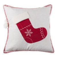 Make-Your Own-Pillow Stocking Throw Pillow Cover - Bed ...