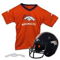 NFL Denver Broncos Kids Helmet/Jersey Set - Bed Bath & Beyond