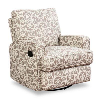 abbyson living thatcher fabric rocking chair in beige best barber chairs gliders rockers recliners buybuy baby lily swivel glider recliner grey floral
