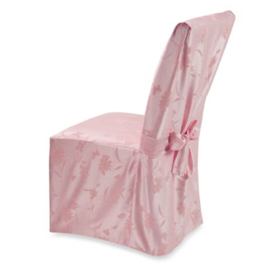 Buy Spring Meadow Damask Dining Room Chair Cover  Pink