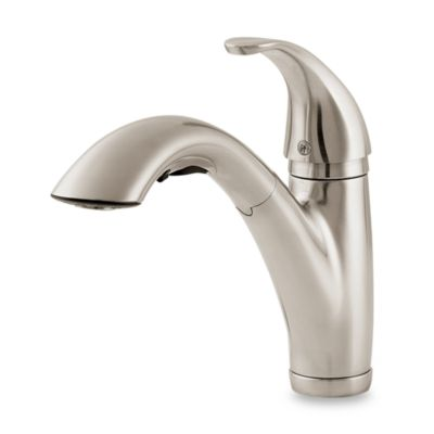 price pfister kitchen faucet pull out Price Pfister® Parisa Pull Out Kitchen Faucet in Stainless Steel - Bed Bath & Beyond
