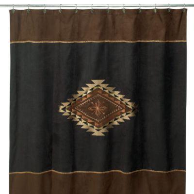 Avanti Mojave 72Inch x 72Inch Fabric Shower Curtain in