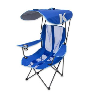 the chair outlet keizer oregon childrens saucer buy beach chairs bed bath beyond kelsyus original canopy folding arm in royal blue