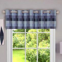 Kitchen Window Valance Dark Wood Cabinets Buy Curtain Bed Bath Beyond Achim Harvard