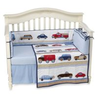 Whistle & Wink Cars and Trucks 3-Piece Crib Bedding Set ...