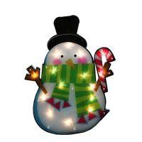 Northlight 15-Lighted Snowman Window Silhouette Christmas ...