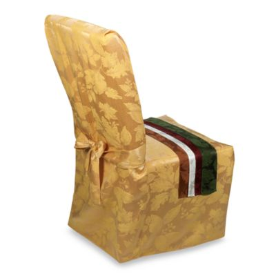 Autumn Harvest Dining Room Chair Cover  Bed Bath  Beyond