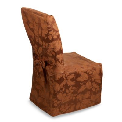 Buy Autumn Harvest Dining Room Chair Cover from Bed Bath