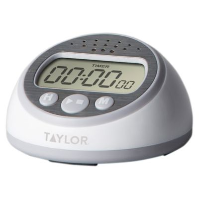 kitchen timer for hearing impaired cork flooring buy timers bed bath and beyond canada taylor super loud