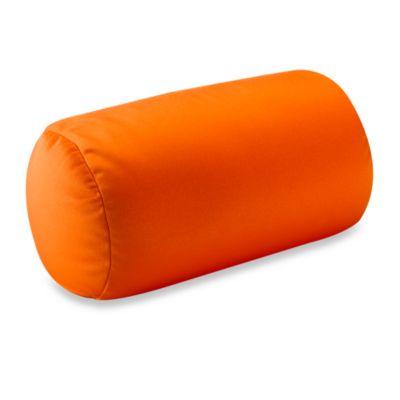 Homedics Sqush Tube Pillow  Orange  Bed Bath  Beyond