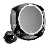 The Sharper Image Fog-Free Shower Mirror with Radio - Bed ...