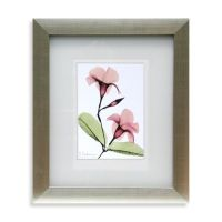 X-Ray Pink Floral Wall Art II - Bed Bath & Beyond