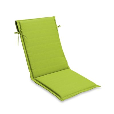 sling chair outdoor wicker bar chairs uk buy bed bath beyond medford solid cushion in lime