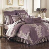 Anastasia Purple Comforter Sets