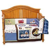 Lambs & Ivy Vroom 5-Piece Crib Bedding Set - buybuy BABY