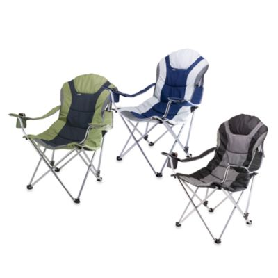 Picnic Time Reclining Camping Chair  Bed Bath  Beyond