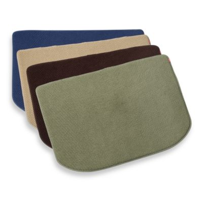 Microdry Memory Foam Luxury Kitchen Mat  Bed Bath  Beyond