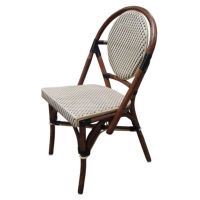 Paris Bistro Chairs - Black and Ivory (Set of 2) - Bed ...