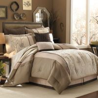 Manor Hill Lark Brown 8-Piece Complete Comforter Set ...