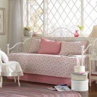 Laura Ashley Carlie Pink Daybed Bedding Set - Bed Bath ...
