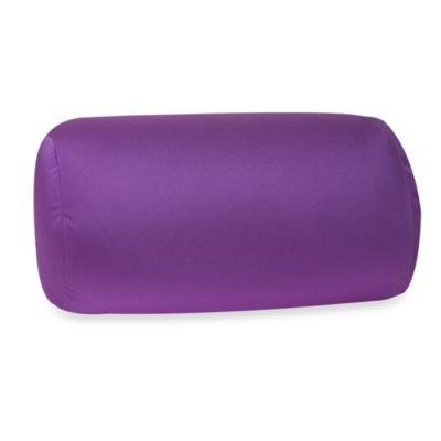 Homedics Sqush Tube Pillow  Purple  Bed Bath  Beyond