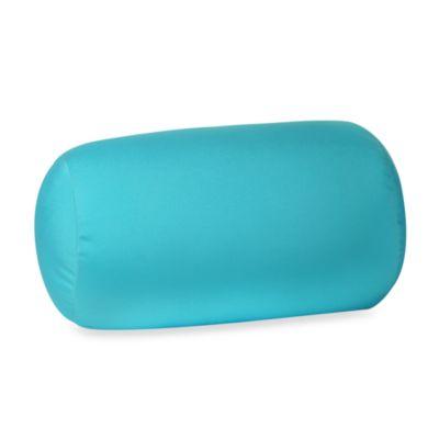 Homedics Sqush Tube Pillow  Turquoise  Bed Bath  Beyond
