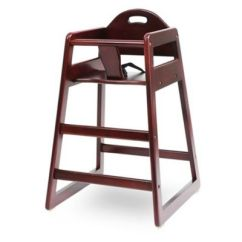 Eddie Bauer High Chairs Slipcovers For Dining Uk Wood Chair Buybuy Baby La Solid In Cherry