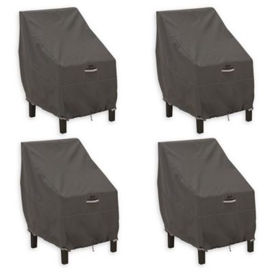 padded high chair cover hire east sussex buy covers bed bath beyond classic accessories ravenna back patio set of 4