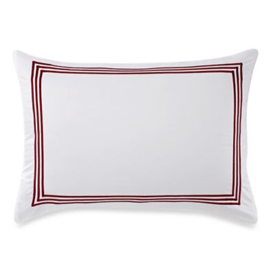 buy red white pillow
