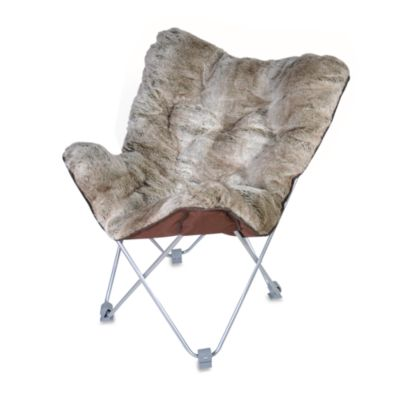 Butterfly Chair  Faux Fur  Bed Bath  Beyond