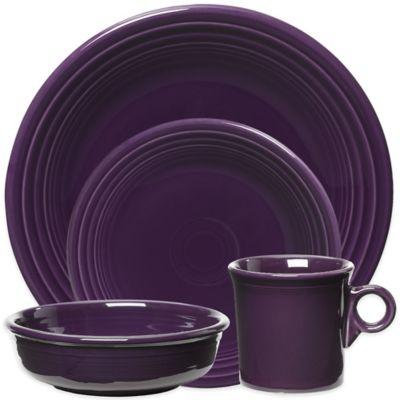 Fiesta Dinnerware Collection in Plum