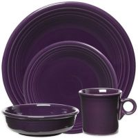 Fiesta Dinnerware Collection in Plum - Bed Bath & Beyond