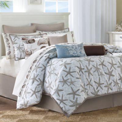 Harbor House Island Grove Comforter Set 100 Cotton Bed