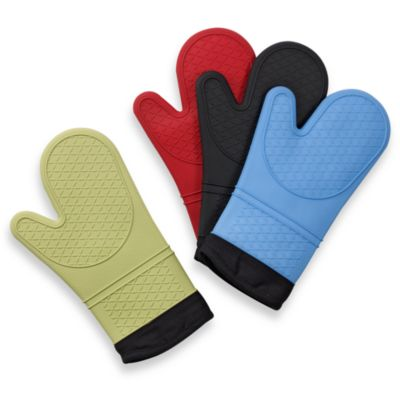 Silicone Quilted Oven Mitt Bed Bath Amp Beyond