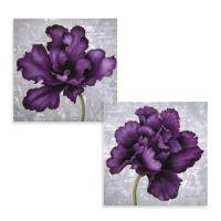 Plum Flower Wall Art - Bed Bath & Beyond