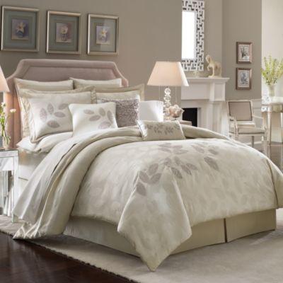 Lenox Platinum Leaf Comforter Set