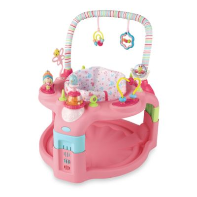 Bright Starts Pretty in Pink Entertainer and Grow Saucer