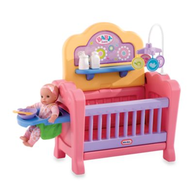 Little Tikes 4 In 1 Baby Born Nursery Buybuy Baby