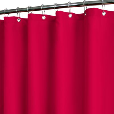 Buy red bath curtains from bed bath amp beyond