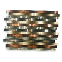 Ribbon Metal Wall Decor - Bed Bath & Beyond