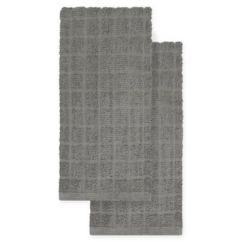Gray Kitchen Towels Conversion Calculator Buy Grey Bed Bath Beyond Kitchensmart Colors 2 Pack Solid In