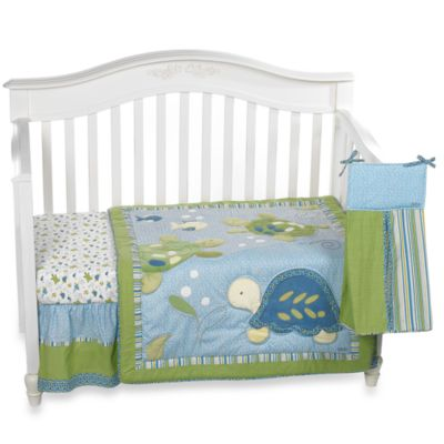 Buy Blue And Green Nursery Bedding From Bed Bath Beyond
