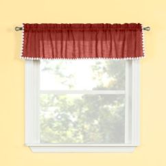Kitchen Valance How To Build An Outdoor Counter Buy Valances Bed Bath Beyond Andrea Window In Spice