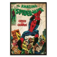 Spider-Man Marvel Comic Book Wall Art - Bed Bath & Beyond