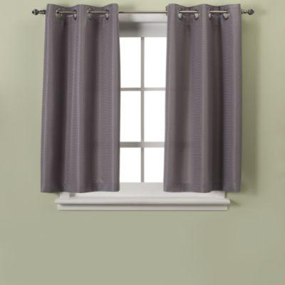 Hookless® Waffle 45 Inch Window Curtain Bed Bath & Beyond