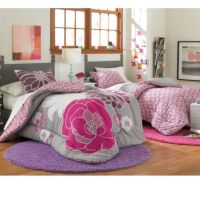 Leah Reversible Twin/Twin XL Bedding Set - Bed Bath & Beyond