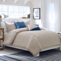 Nautica Crew Solid Bed Set, 100% Cotton - Bed Bath & Beyond