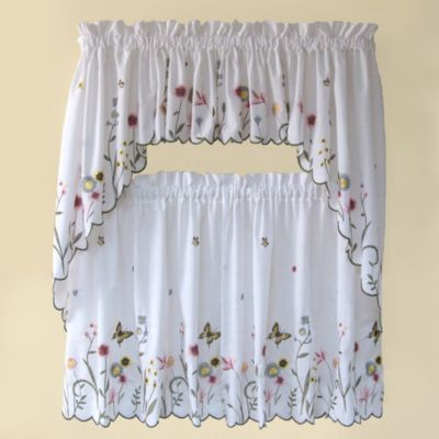 Buy Butterfly Kitchen Curtains from Bed Bath  Beyond